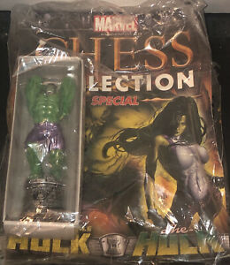 Eaglemoss Marvel Chess Collection Special Hulk-NEW IN PACKAGE WITH MAGAZINE-WOW!