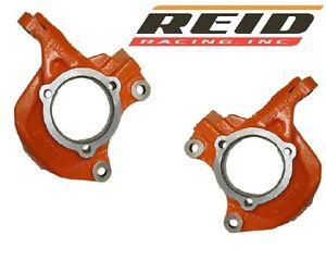 Reid Racing HD Front Steering Knuckles Left & Right Pair 07-18 Jeep Wrangler JK