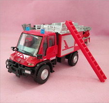 Mercedes-Benz Unimog U400 Fire engine Model Cars Toys 1:40 Gifts Alloy Diecast