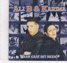 Ali B&Karma-Waar Gaat Dit Heen cd single