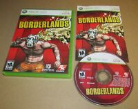 Borderlands for Xbox 360 Complete Fast Shipping!