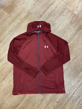 Under Armour Mens Red Hoodie Size XL