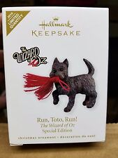 2010 Hallmark Keepsake Ornament RUN TOTO RUN WIZARD OF OZ LIMITED QUANTITY
