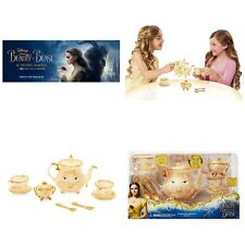 Disney Store Beauty and the Beast Enchanted Objects Tea Set Live Action Film NIB
