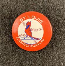 St. Louis Cardinals Vintage Pinback Button Baseball