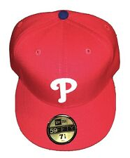 New Era 59Fifty Philadelphia Phillies Fitted Hat 7 1/2