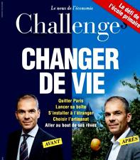 CHALLENGES n° 531 du 31/8-6/9/2017**CHANGER de VIE***MACRON refuse les CASSANDRE