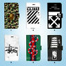 Street Fashion Wallet Case Cover Samsung Galaxy S3 4 5 6 7 8 Edge Note Plus 096