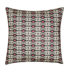 Ethnic Aztec White Black Print 100 Twill Cotton Cushion Cover Sofa Bed 16 X 16