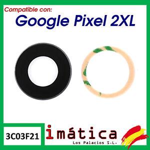 CRISTAL DE CAMARA PARA GOOGLE PIXEL 2 XL 2XL LENTE TRASERO TRASERA PRINCIPAL