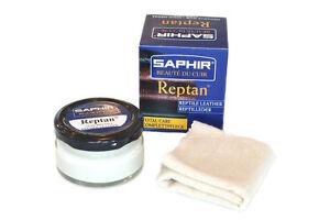 Saphir Beaute du Cuir Reptan Nourishing Cream for Exotic Leathers 50ml