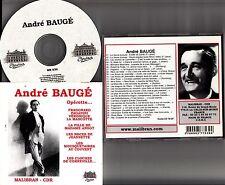ANDRE BAUGE- Sings Baritone Arias, Malibran Operetta CD *Lehar/Romberg/Pierne*