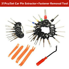 31Pcs Motorcyle Electrical Wire Connector Pin Extractor Terminal Removal Tools