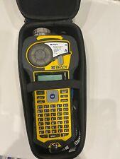 Brady Bmp21 Plus Portable Handheld Label Printer With Case 2 Cartriige Refils