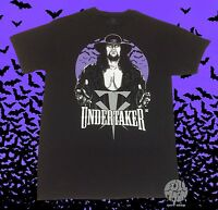 New WWE The Undertaker Bats Vintage Legends WWF Men's T-Shirt