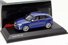 Audi RS Q3 sepangblau 1:43 Schuco