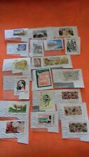 vendre timbres collections francais obliteres
