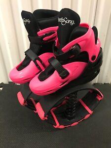 HEARTH SONGSize-35-38 Pink- 21st Rebounding Shoes jumping spring shoes kangoo