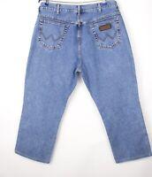 Wrangler Hommes Texas Jeans Jambe Droite Taille W42 L26 AVZ454