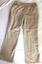 Marks and Spencer Cotton Chinos Loose Fit Trousers for Women