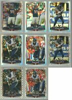 Houston Texans 8 card 2014 Topps Chrome REFRACTORS/XFRACTORS lot-all different
