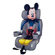 KidsEmbrace Forward-Facing Five-Point Harness Booster Car Seat, Mickey Mouse