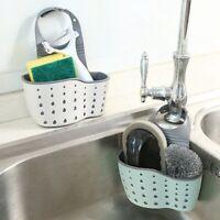 Kitchen Hanging Basket Sink Sponge Drain Holder Bathroom Storage Rack @zhi Nice