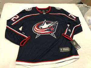 NWT $169.99 Fanatics Mens Columbus Blue Jackets Breakaway Jersey Bobrovsky LARGE