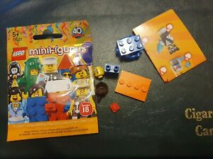Lego Minifigures Series 18 - Brick Suit Girl - NEW (3)