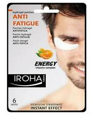Iroha Eye Patch Mask Hydrogel Anti Fatigue Men Energy Vitamin C B3  Density 6 Ps