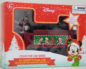 Disney Mickey Mouse Holiday Express #1 Goofy's Coal Car Collector Series 1 & 2