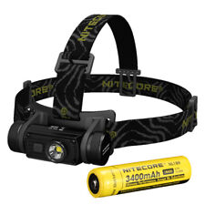 Nitecore HC60 CREE XM-L2 U2 LED USB Rechargeable Headlamp with 18650 Battery