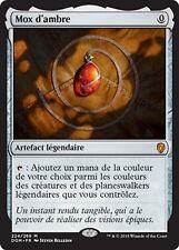 MRM FRENCH Mox d'ambre - Mox amber MTG magic DOM