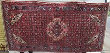 "10'-7"" X 5'-2' Semi Antique Hamadan Estate Carpet"