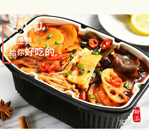 Hot pot Chinese self heating instant box 15mins camping trip asian noodle 350g
