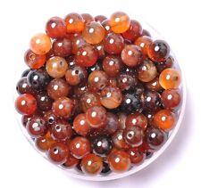 30Pcs Carnelian Natural Gemstone Round Spacer Loose Beads 6MM #7
