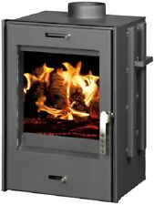 Firebox Boiler Wood Burning Stove Fireplace Insert Inset Water Jacket 9kw VERONA