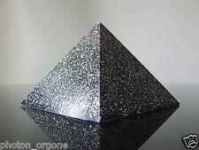 Orgón 12x9cm Pirámide Capricornio piedra preciosa piedra Zodiac Onyx Jet Lapis Lazuli