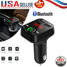 Handsfree Car Kit Wireless Bt Fm Transmitter Lcd Mp3 Player Usb Charger Us c