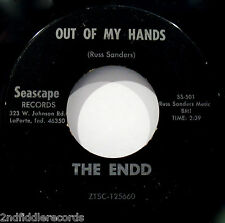 THE ENDD-Out Of My Hands-Mega Rare Indiana Psych Garage 45-SEASCAPE #SS 501