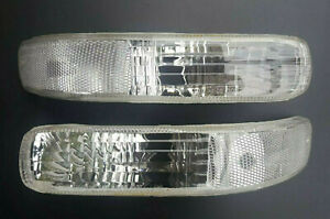 For JEEP CHEROKEE/LIBERTY 2001-2004 front White signal indicators Left + Right