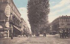 8847) TORINO CORSO VITTORIO EMANUELE GRAND HOTEL LIGURIA E DANGLETTERRE VG 1913