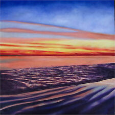 Art oil Painting Canvas sunrise sunset ocean print seacape Australia