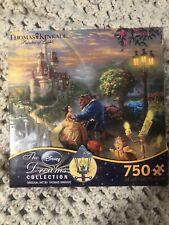 Thomas Kinkade Disney Dreams Beauty and the Beast 750 Piece Puzzle