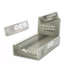"""OCB XPERT  1  box  rolling papers 1250  papers / 25 packs / 1 1/4"""" size"""