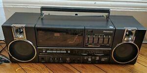 Vintage Boombox Panasonic RX-C45L Radio Cassette. Plays Metal Tapes. Japan.