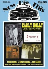 Now Dig This Magazine Issue 451 -NEW- Buddy Holly, Teddy Redell, Ricky Nelson