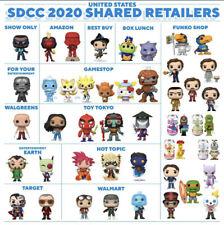 Funko Pop SDCC 2020 SHARED Sticker PREORDER ALL FUNKOS Star Wars, DBZ The Office