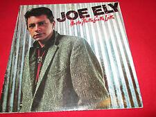 Joe Ely – Musta Notta Gotta Lotta MCA Records – MCF 3099 UK Vinyl LP Album