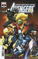 AVENGERS #14 marvel comics CARLOS PACHECO SKRULLS VARIANT 2019 cover C